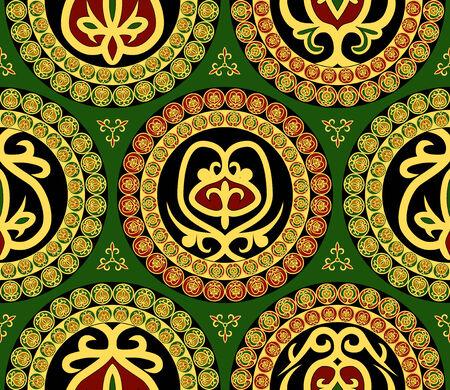 byzantine: Seamless ornament
