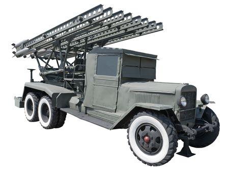 Katyusha multiple rocket launcher (USSR)