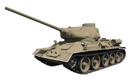 armament: Soviet medium tank T-34-85 (1944) Stock Photo