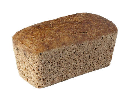 A loaf isolated on white background Stock Photo
