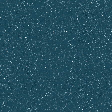 Snowfall (six-point stars of different size and orientation on blue background) Stock fotó