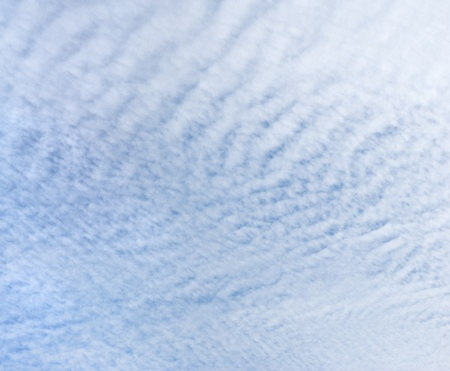 Cirrocumulus cloud Stock Photo