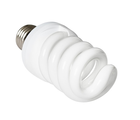 Isolated energy saving compact spiral lamp