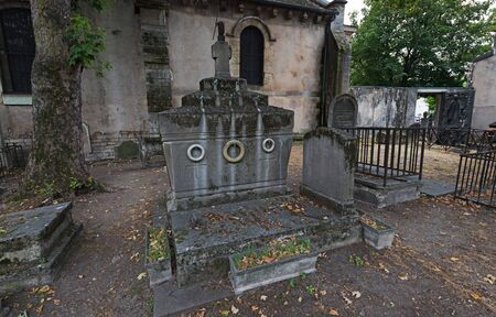Cemetery near Church of Saint Peter of Montmartre, Paris, France
