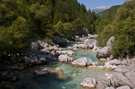 river in Slovenia photo