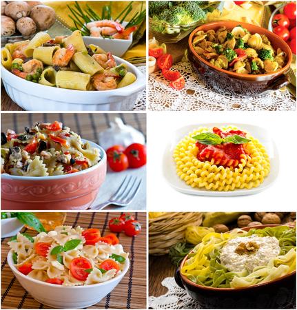 italian pasta images photo