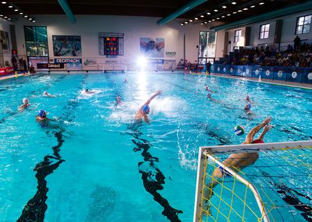 olympic swimming pool mantova october 11 flash light photo in gamesport management