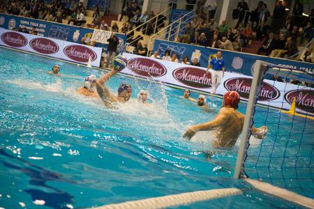 piscina olimpica: GENOVA, febrero, 27: Sasha Sadovvy (BPM Sport Management) en Brescia - BPM Gesti�n del Deporte (Copa de Italia) el 27 de febrero de 2015, G�nova (Italia). Editorial