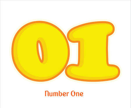 01 numero uno number one