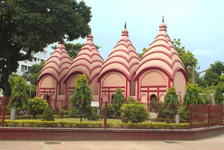 Bangladesh, Dhakeswari temple in Dhaka Stock Photo