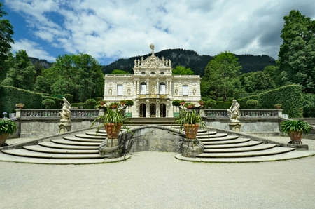 ludwig: Linderhof palace in Bavaria, Germany
