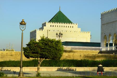 mausoleum: Morocco, Rabat, mausoleum of former king Mohammed V,