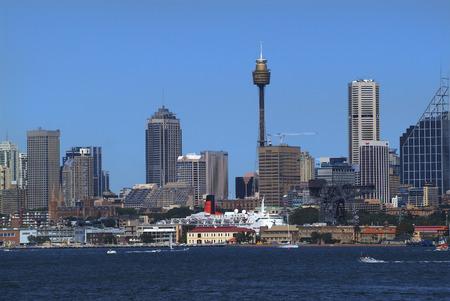 luxus: Australia, port and skyline of Sydney