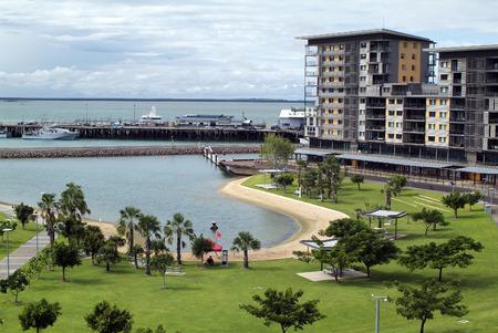 australia: Australia, Darwin Waterfront Development and Wharf