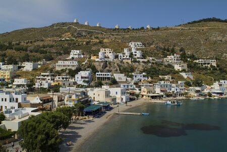 fishing village: Greece, fishing village Panteli on Leros island