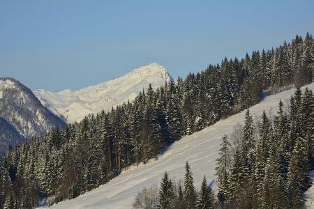 tyrol: Austria, Tyrol, Kitzbueheler Horn Stock Photo