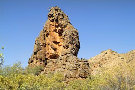aborigines: Australia, Corroboree Rock in East Mac Donnell range national park - mystical site for Arrernte Aborigines