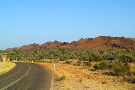 nt: Australia, West Mac Donnell Range and Namatjira Drive