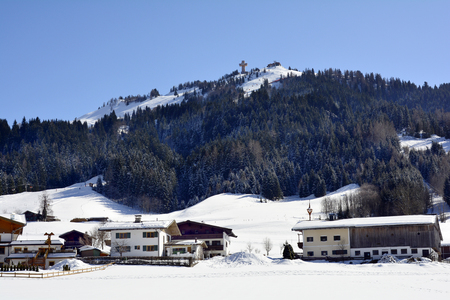 chair on the lift: Austria, ski resort Buchensteinwand with chair lift