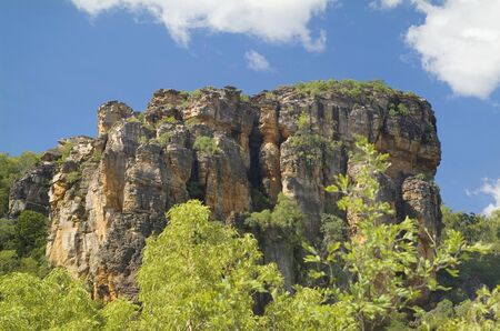 kakadu: Australia, Nourlangie rock in Kakadu Nationalpark Stock Photo