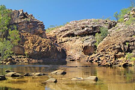katherine: Australia, Edith Falls in Nitmiluk nationalpark