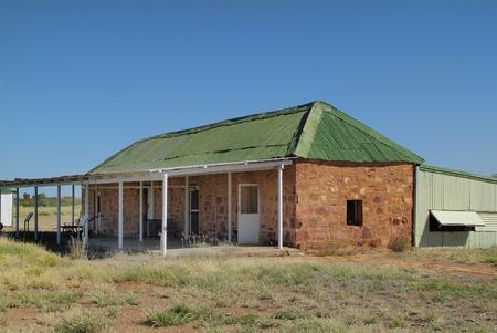 telegraaf: Old Telegraph Station in Tennant Creek, Australia