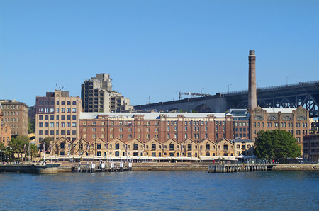 Sydney, Australia - May 10th 2010: The Rocks - former warehouses now preferred place with restaurants and cafes