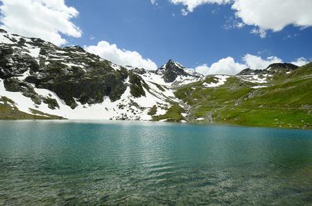 austrian: Austria, Tyrol, lake in Austrian alps