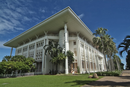 Parliament House of Northern Territory Australien Lizenzfreie Bilder