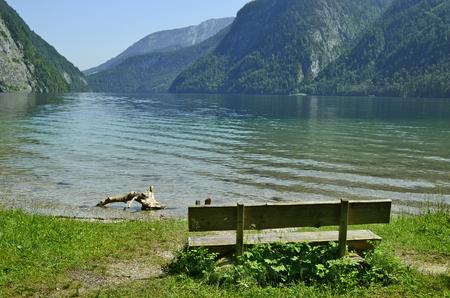 in bavaria: Germany, Koenigssee lake in Bavaria Stock Photo