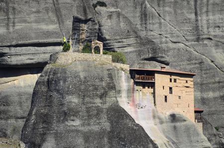 thessaly: Greece, Meteora, monastery of St. Nikolaos Anapafsas