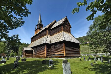 stave: Norway, stave church in Kapuanger