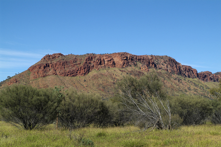 territory: Mc Donnell Range in Northern Territory, Australia