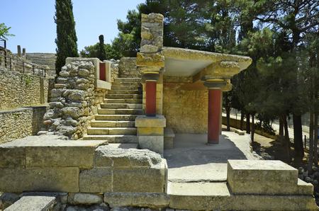 minoan: Greece, Crete, ancient Minoan palace in Knossos