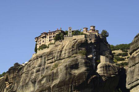 monastery: Greece, Meteora, monastery Varlaam