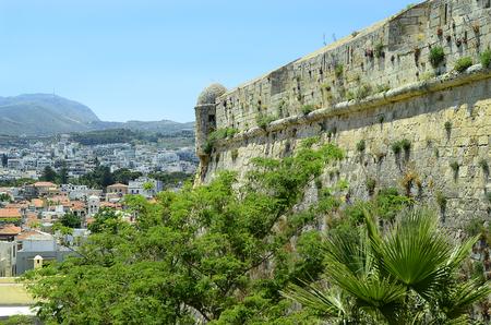 rethymno: Greece, Crete, Retymno, part of Fortezza Rethymno