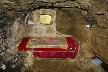 barnabas: Cyprus, underground room of Saint Barnabas monastery