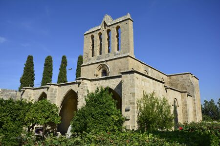 cyprus: Cyprus, medieval gothic abbey Bellapis