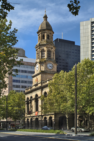 adelaide: Australia, town hall from Adelaide, capital of South Australia Editorial