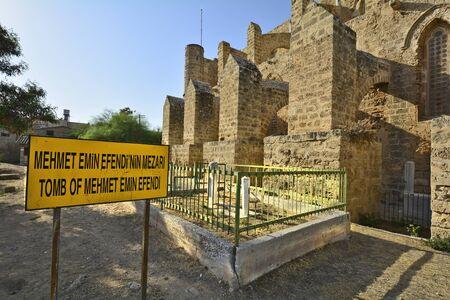 mehmet: Cyprus, Famagusta aka Gazimagusa, tomb of Mehmet Emin Efendi Editorial