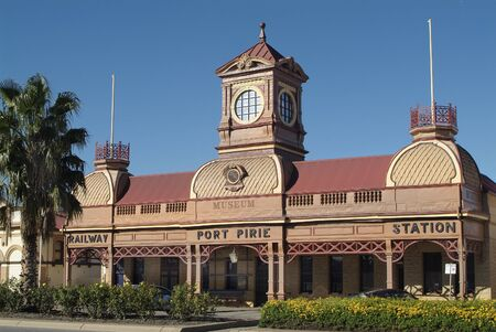 railway station: Old Railway Station in Port Pirie - South Australia