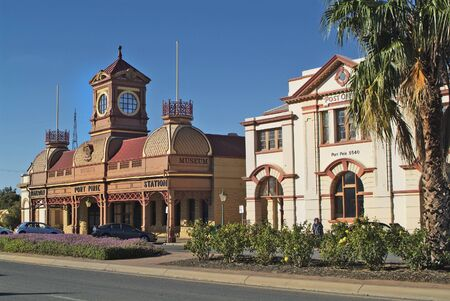 post office: Old Railway Station and Post Office in Port Pirie - South Australia