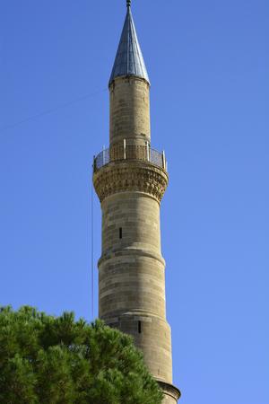 selimiye mosque: Cyprus, Nicosia, minaret of Selimiye mosque