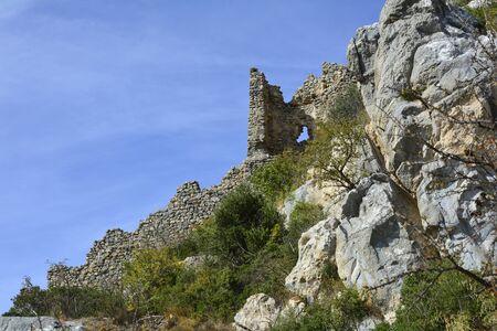 hilarion: Cyprus, ruins of Saint Hilarion castle near Kyrenia aka Girne Editorial