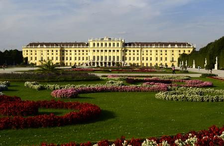 preferred: Vienna, Austria, former Habsburg monarchy castle Schoenbrunn,   preferred tourist attraction and recreational park in Vienna
