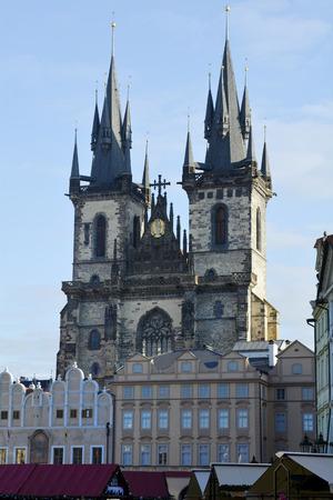 tyn: Prague, Czech Republic - Tyn Church aka Church of Our Lady before Tyn