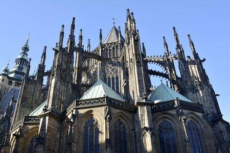Prague, Czech Republic - Saint Vitus cathedral