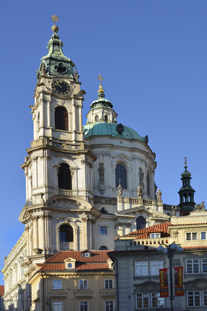 nicholas: Prague, Czech Republic - Saint Nicholas church