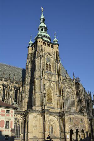 vitus: Prague, Czech Republic - Saint Vitus cathedral
