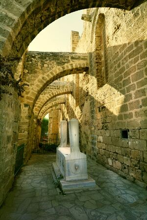mehmet: Cyprus, Famagusta, tomb of Chelebi Mehmet, Stock Photo
